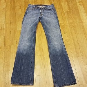 7 For All Mankind Boy Cut Jeans - Size 24